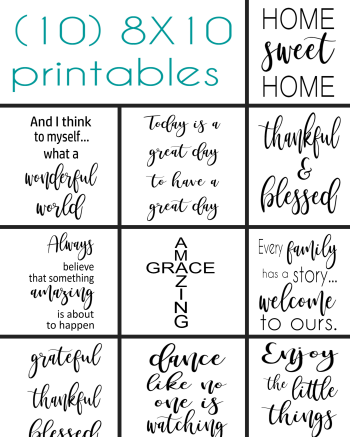 Crazy Diy Mom 10 Printable 8x10 Sayings For Making Your Own Wood Signs