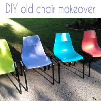 old chair makeover