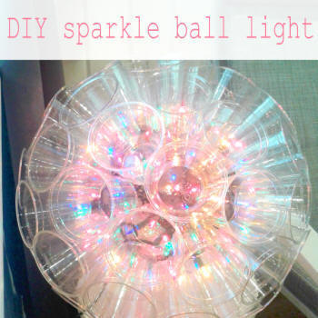 sparkle ball solo cup light