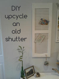 upcycle a shutter
